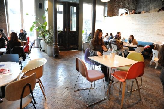 aA design museum seoul hongdae cafe coffee shop eames cool chairs