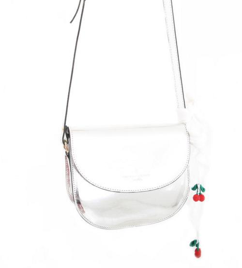 bullet purse silver purse min and mia min&mia streetfashion